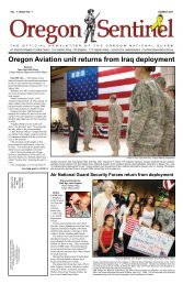Oregon Aviation unit returns from Iraq deployment - State of Oregon