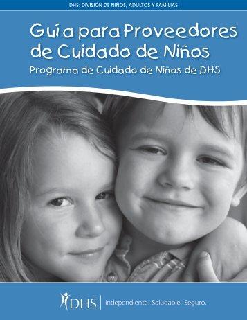 Guía para Proveedores de Cuidado de Niños - SEIU Local 503