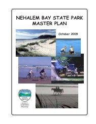 NEHALEM BAY STATE PARK MASTER PLAN - State of Oregon