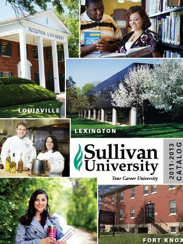A Message from the President - Sullivan University | Library
