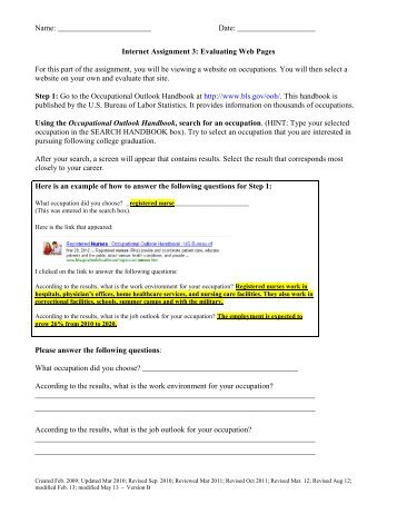 Evaluating Web Pages - Sullivan University | Library