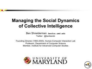 Slides - MIT Center for Collective Intelligence