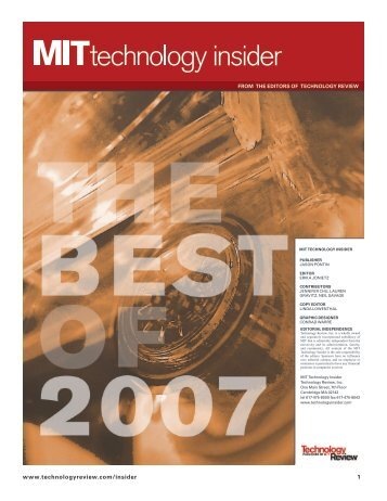www.technologyreview.com/insider 1 - MIT Center for Collective ...