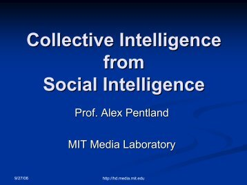 MIT Center for Collective Intelligence