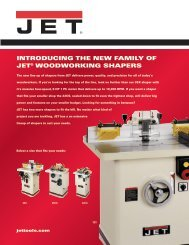 CS RS INtRODuCING tHE NEW FAMILY OF JEt ... - JET Tools