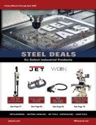 METALWORKING - JET Tools