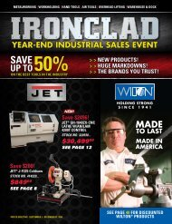 YEAR-END INDUSTRIAL SALES EVENT - JET Tools