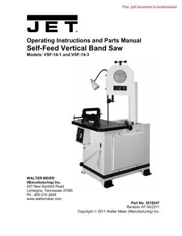 m 414454 j 3410 j 3410 2 bandsaw manual rev jet tools rh yumpu com Tools Clip Art Tools Icon