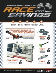 the best prices! - JET Tools