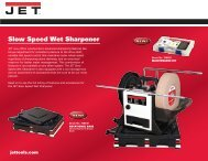 Slow Speed Wet Sharpener - JET Tools