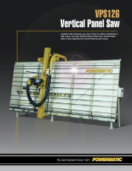 VPS126 Vertical Panel Saw