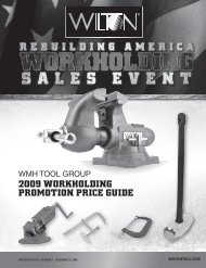 2009 WORKHOLDING PROMOTION PRICE GUIDE