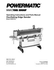 Powermatic Model 66 Table Saw Manual pdf - Woodworkers Guild