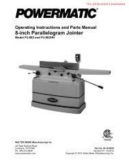 Instruction Manual - Rockler.com