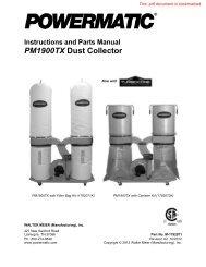 1792072K Manual - Powermatic