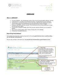 Embase handout
