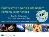 How to write a world-class paper?