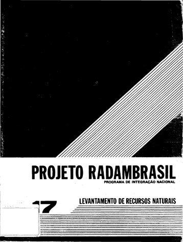 PROJETO RADAMBRASIL