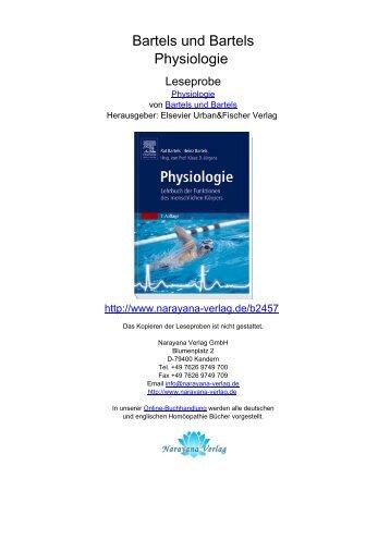Bartels und Bartels Physiologie