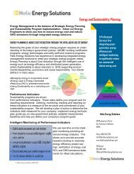 Energy and Sustainability Planning- Helio Energy Solutions