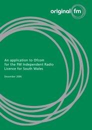 Original fm - Ofcom Licensing