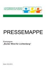 Bunter Wind in der Lückstraße - Lichtenberger Bündnis für ...