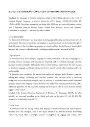 """Overview of the HANDBOOK """"LANGUAGE IN ... - LICI Project"""
