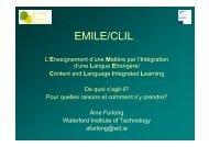EMILE/CLIL