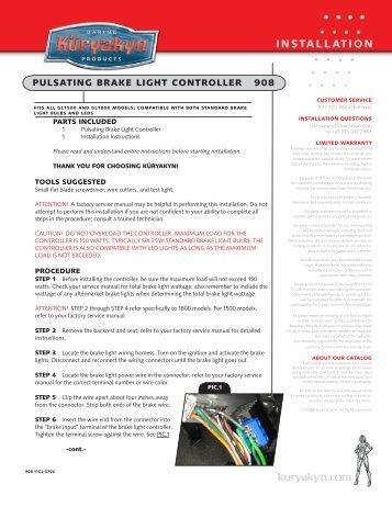 Installation Instructions - MotoSport