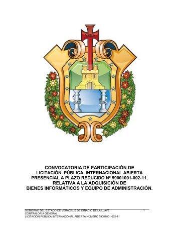 convocatoria de participación de relativa a la adquisición de bienes ...