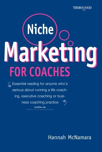 Niche Marketing for Coaches - Lifecycle Performance Pros