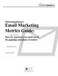 Email Marketing Metrics Guide: - Lifecycle Performance Pros