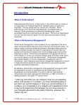 Download the Performance Management Fundamentals Guide - Page 4