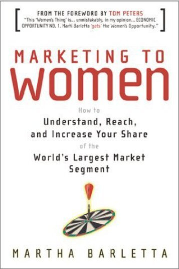 Marketing to Women - Lifecycle Performance Pros