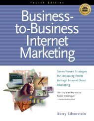 Business-to-Business Internet Marketing, Fourth Edition - Lifecycle ...