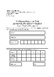 Universität Karlsruhe (TH) Lehrstuhl Informatik für Ingenieure und ...
