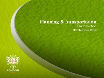 Reports of the City Planning Officer Relative to Planning ...
