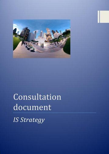 Consultation Document IS Strategy , item 4. PDF 1 MB