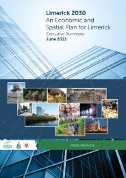 Limerick 2030 An Economic and Spatial Plan for Limerick