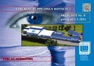 Verlagsgruppe linus Wittich Verlag herbstein preisliste nr. 8 gültig ab ...