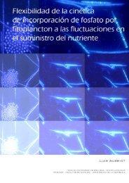 Resumen - Sección Limnología - Facultad de Ciencias