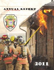 2011 Annual Report.pmd - City of Lincoln & Lancaster County ...