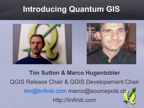 introduction to QGIS slideshow