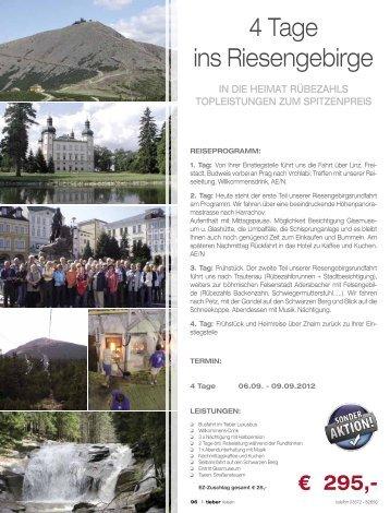 4 Tage ins Riesengebirge