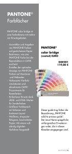 Pantone - Hanbückers Werbung GmbH - Seite 6