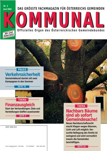 Download Ausgabe 6 - Kommunal