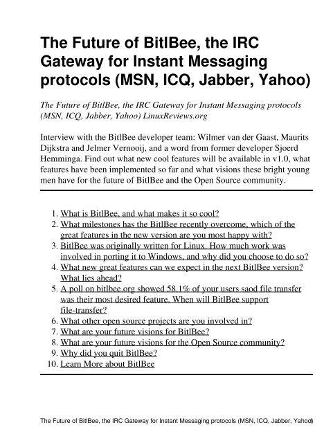 PDF-Slide - Linux Reviews