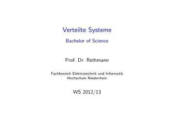 Dienste - Hochschule Niederrhein