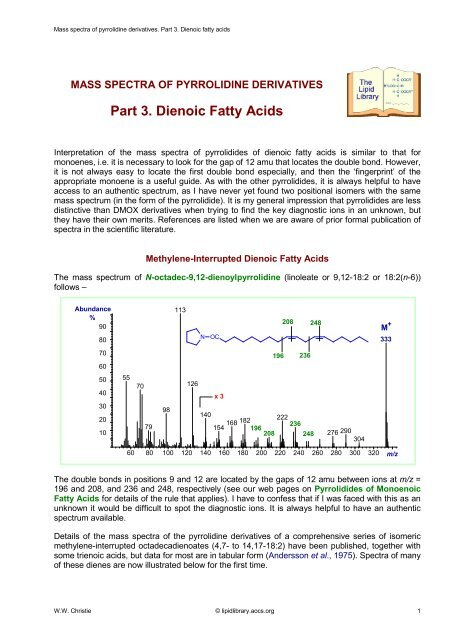 Structure Of Fatty Acids And Derivatives Simplified Manual Guide