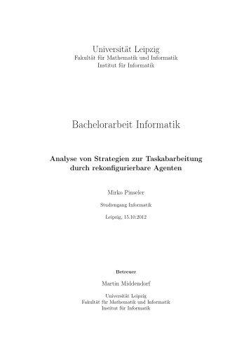 Bachelorarbeit Informatik - Dokumentenserver Fakultät für ...